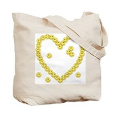Little Healthy Cells (Heart Back) Tote Bag