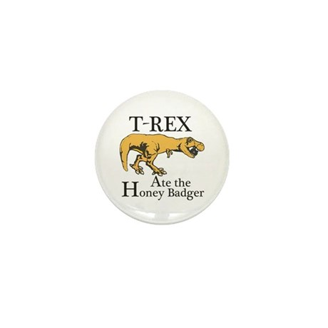 T REX Ate Mini Button