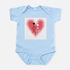Interracial Love & Relationsh Infant Creeper