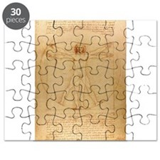 The Vitruvian Man Puzzle