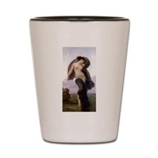Bouguereau Evening Mood Shot Glass