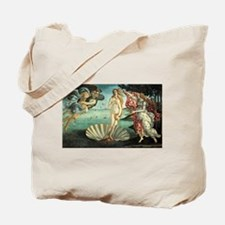 The Birth of Venus - Sandro Botticelli Tote Bag