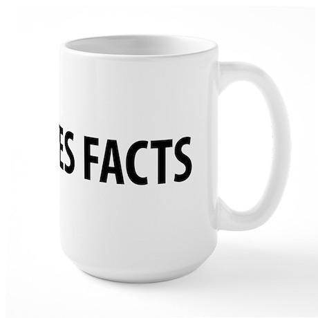 God Hates Facts Large Mug