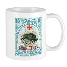 North Borneo Wild Boar Stamp Mug