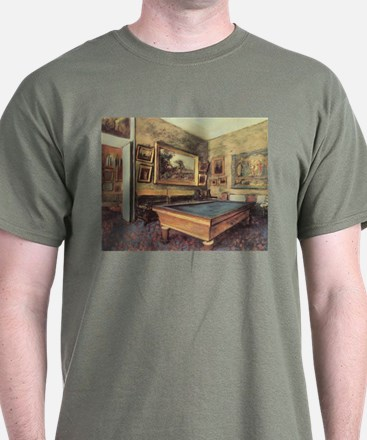 Edgar Degas Billiard Room T-Shirt