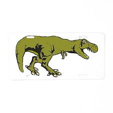 T rex 4 Aluminum License Plate