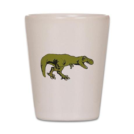T rex 4 Shot Glass
