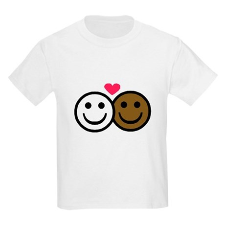 Interracial Love Kids T-Shirt