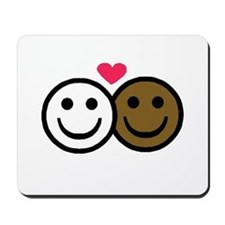 Interracial Love Mousepad
