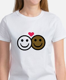 Interracial Love Women's T-Shirt
