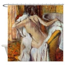 Edgar Degas After The Bath Shower Curtain