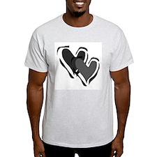 Interracial Love Ash Grey T-Shirt