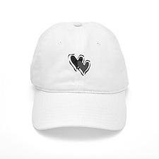Interracial Love Baseball Cap