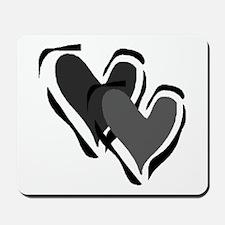 Interracial Love Mousepad