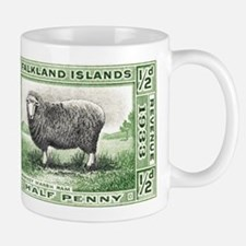 Falkland Islands Ram Postage Stamp Mug