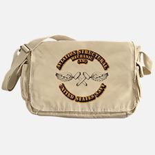 Navy - Rate - AM Messenger Bag