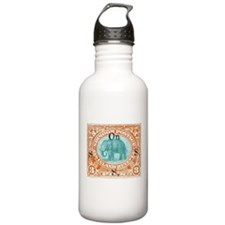 Sirmoor India Elephant Stamp 1894 Water Bottle