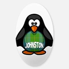 Johnston Tartan Penguin Decal