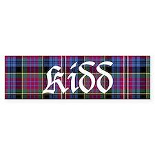 Tartan - Kidd Bumper Sticker