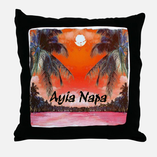 ayia napa beach art illustration pencil and painti