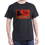 The Rabbit In Red Dark T-Shirt