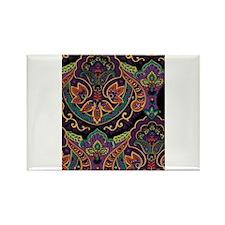 Carpet Design Rectangle Magnet