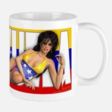 PINUP MUG - Girls of the World (Venezuela)