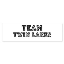 Team Twin Lakes Bumper Bumper Sticker