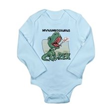 Personalizable T-Rex Long Sleeve Infant Bodysuit