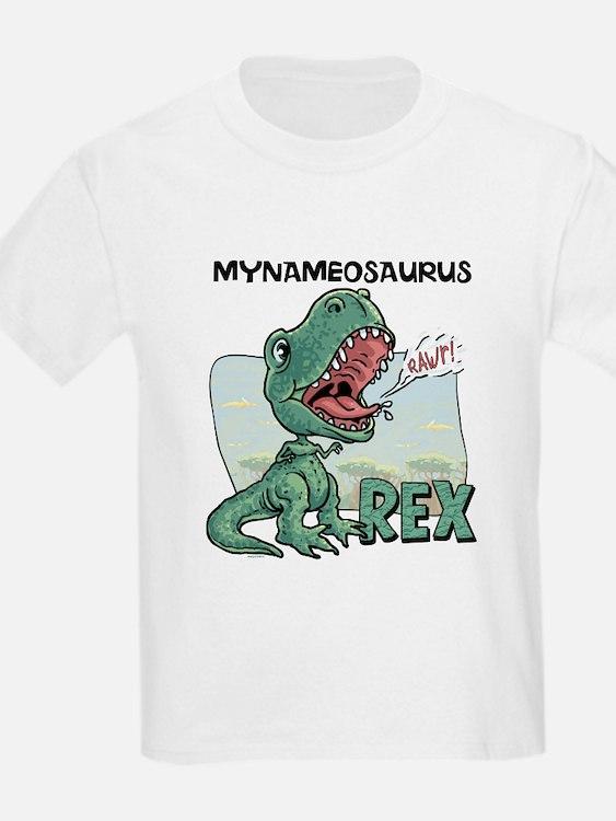 Personalizable T-Rex T-Shirt