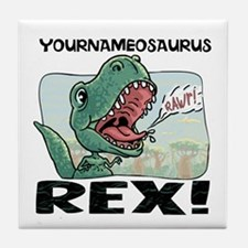 Little T Rex Tile Coaster