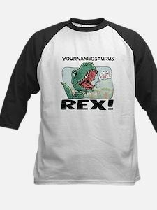 Little T Rex Kids Baseball Jersey