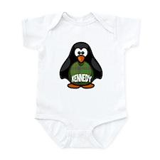 Kennedy Tartan Penguin Infant Bodysuit