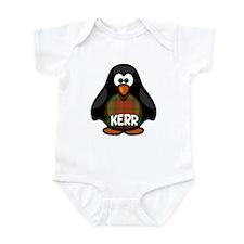 Kerr Tartan Penguin Infant Bodysuit