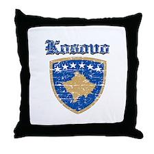 Kosovo Coat of arms Throw Pillow
