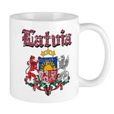Latvia Coat of arms Mug