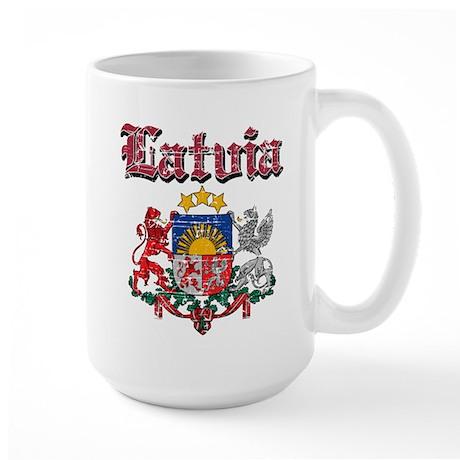 Latvia Coat of arms Large Mug