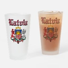 Latvia Coat of arms Drinking Glass
