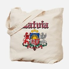 Latvia Coat of arms Tote Bag