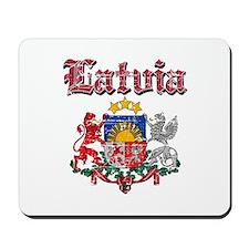 Latvia Coat of arms Mousepad