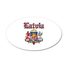 Latvia Coat of arms Wall Sticker