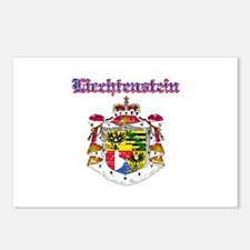 Liechtenstein Coat of arms Postcards (Package of 8