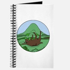 Funny Fainting goat Journal