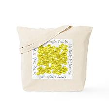 Single Healthy Cells (Plain Back) Tote Bag