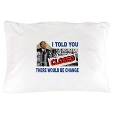 CLOSED FACTORY Pillow Case