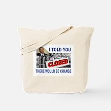CLOSED FACTORY Tote Bag