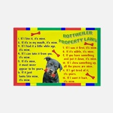 3-Property Laws -Rottweiler Magnets