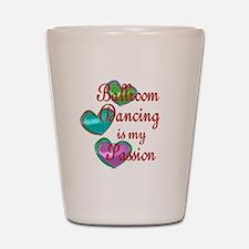 Ballroom Passion Shot Glass