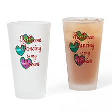 Ballroom Passion Drinking Glass