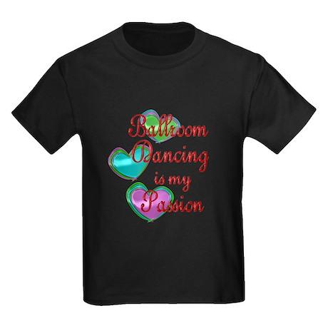 Ballroom Passion Kids Dark T-Shirt